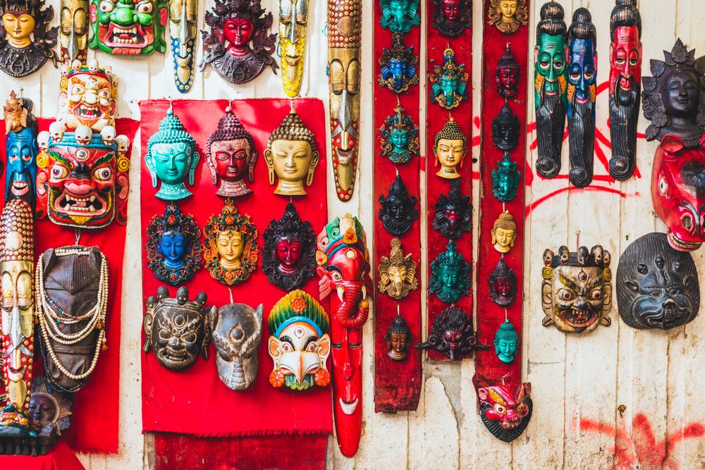 Традиционный рынок Тамель в Катманду