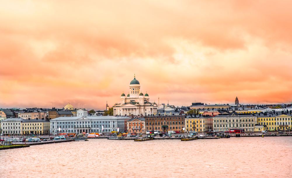 Панорамный вид на Хельсинки
