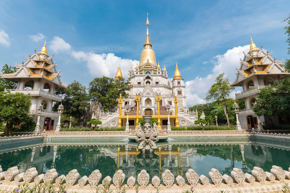 Buu Long пагода в Хошимине