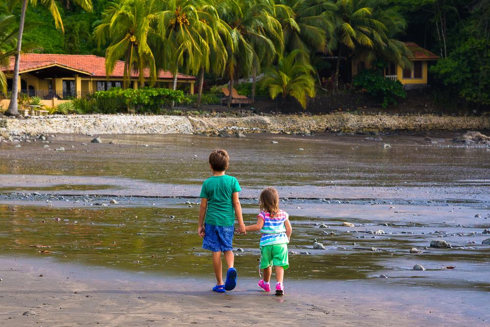 Дети на Коста-Рике