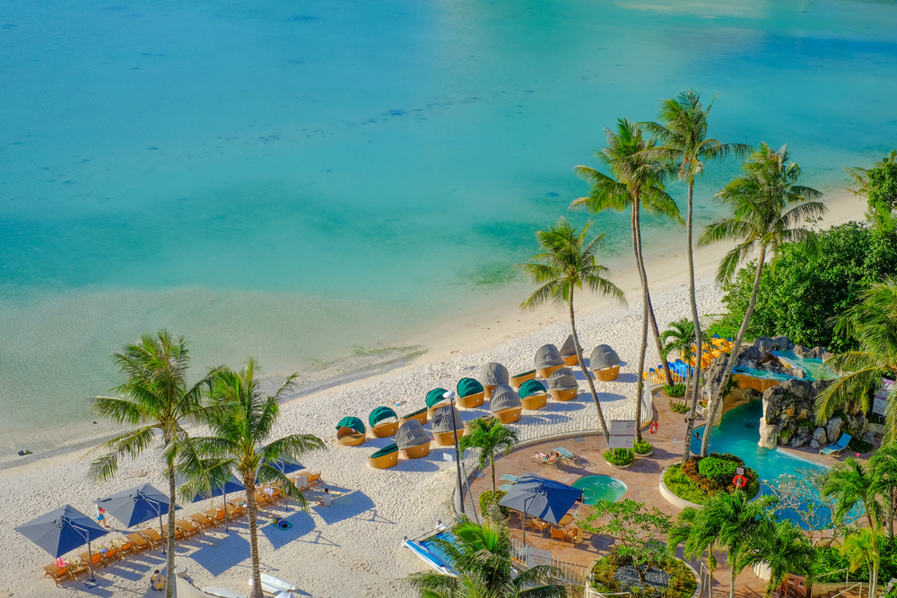Пляж Тумон на Гуаме