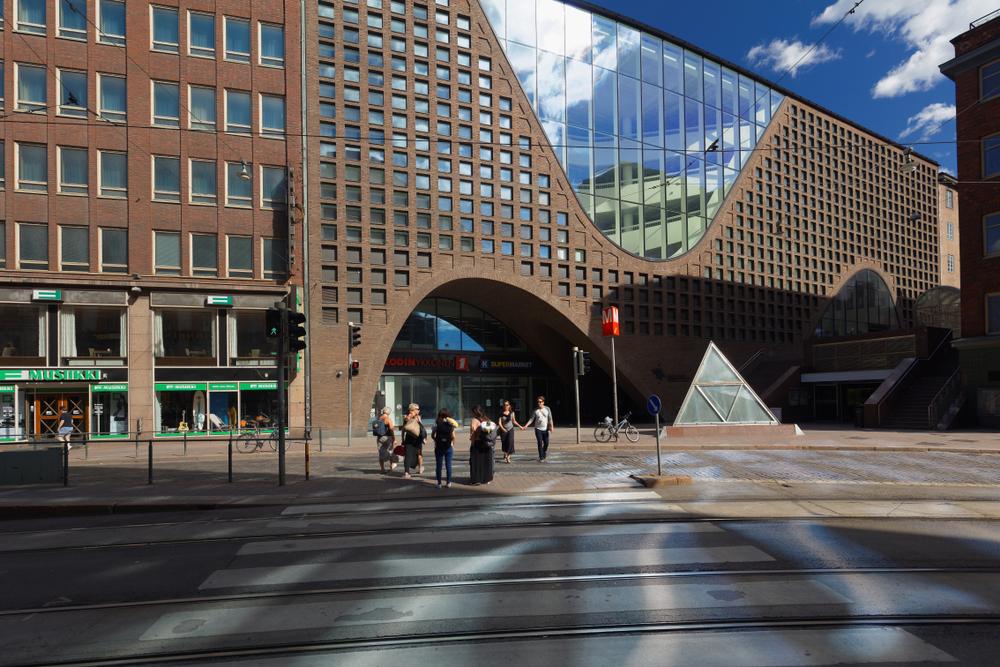 Библиотека Университета Хельсинки