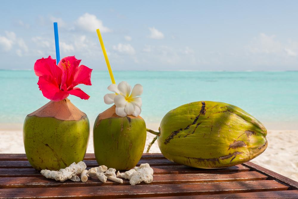 Тропический коктейль на Мальдивах