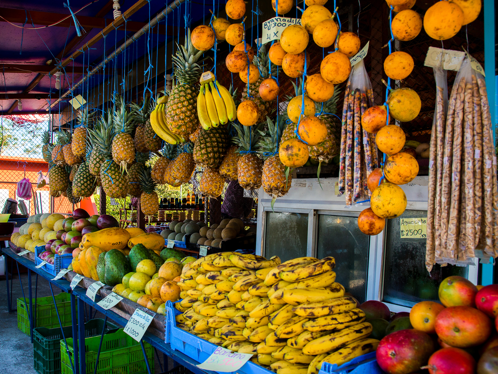 Фруктовый рынок на Коста-Рике