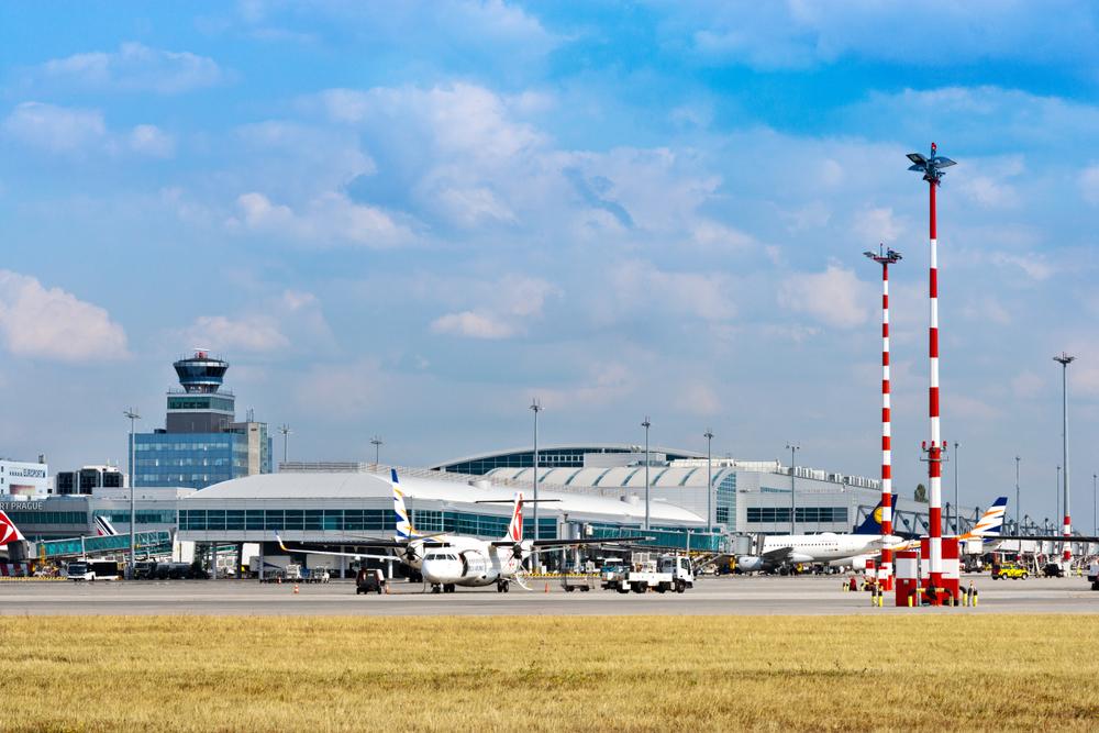 Международный аэропорт имени Вацлава Гавела