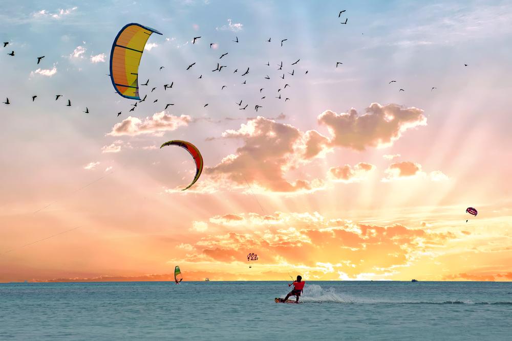 Водные виды спорта на Арубе