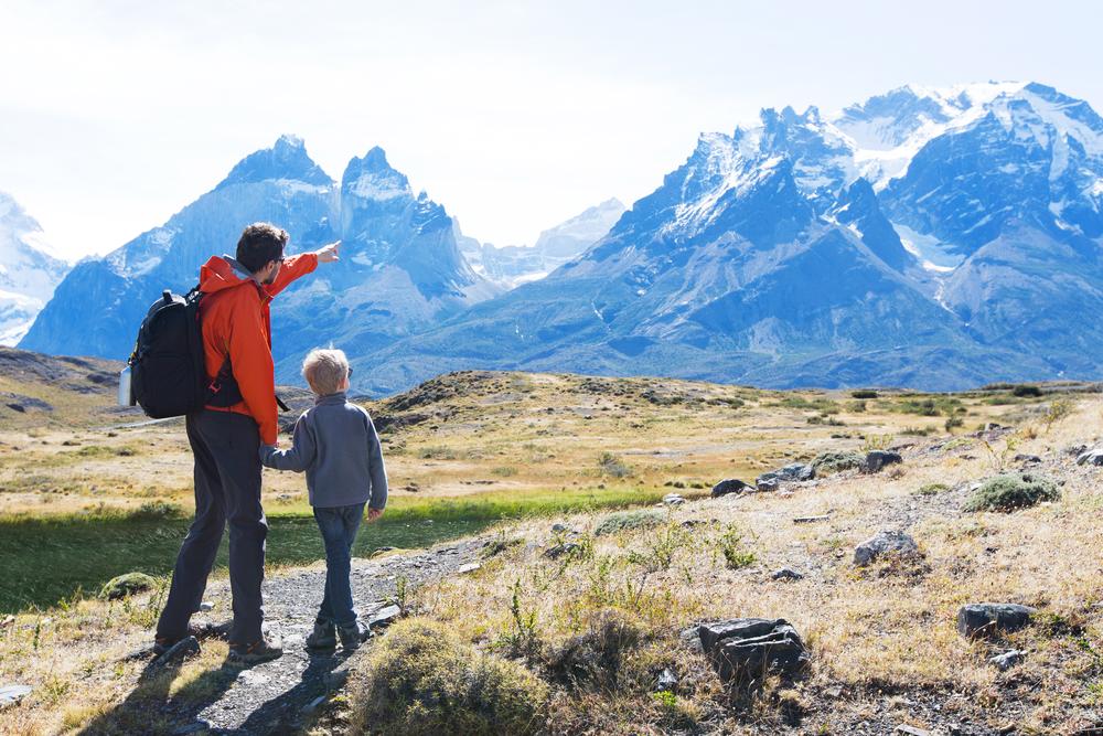 Национальный парк в Патагонских горах