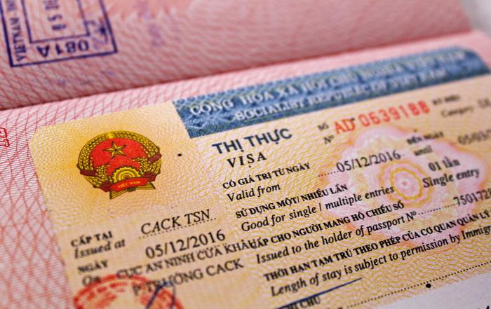 Вьетнамская туристическая виза