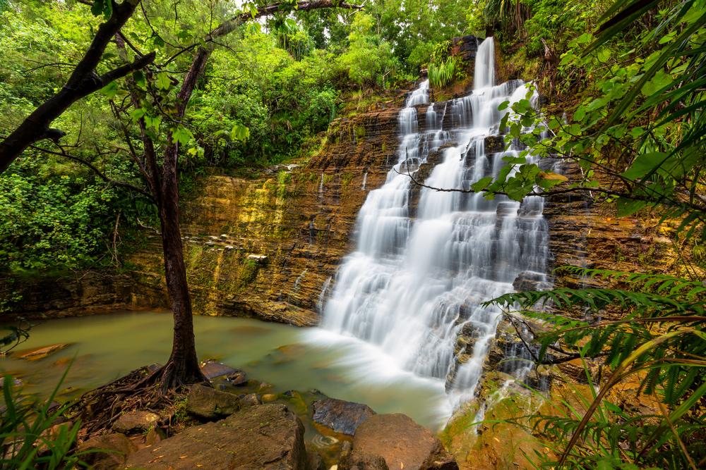 Долина водопадов Гуама