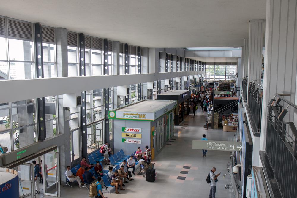 Аэропорт в Вьентьяне