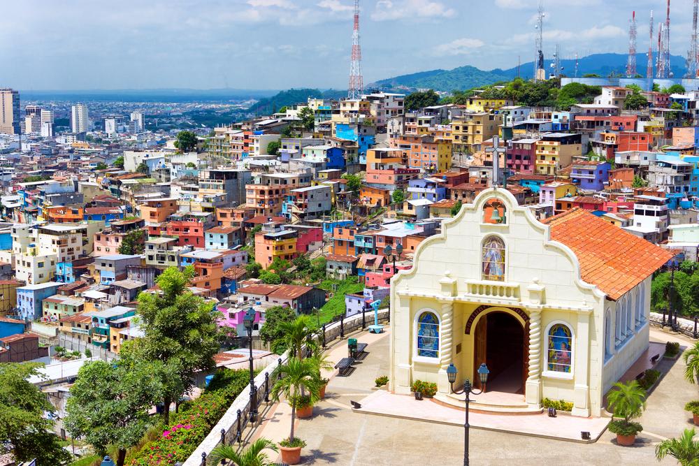 Церковь в городе Гуаякиль