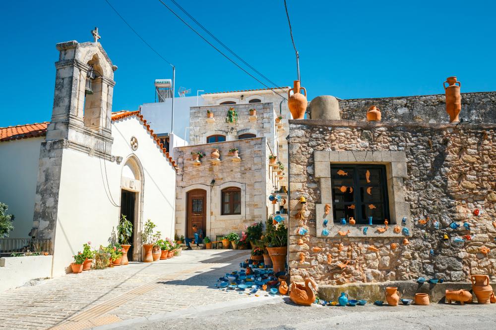 Деревня Маргаритес
