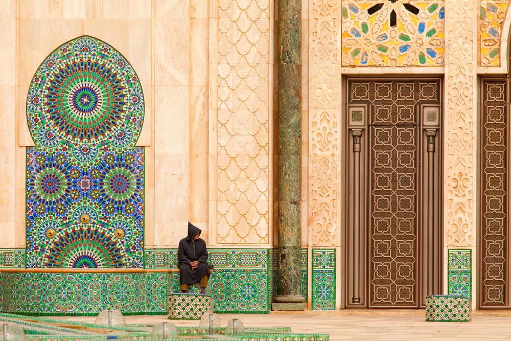 Дверь мечети Хасана II