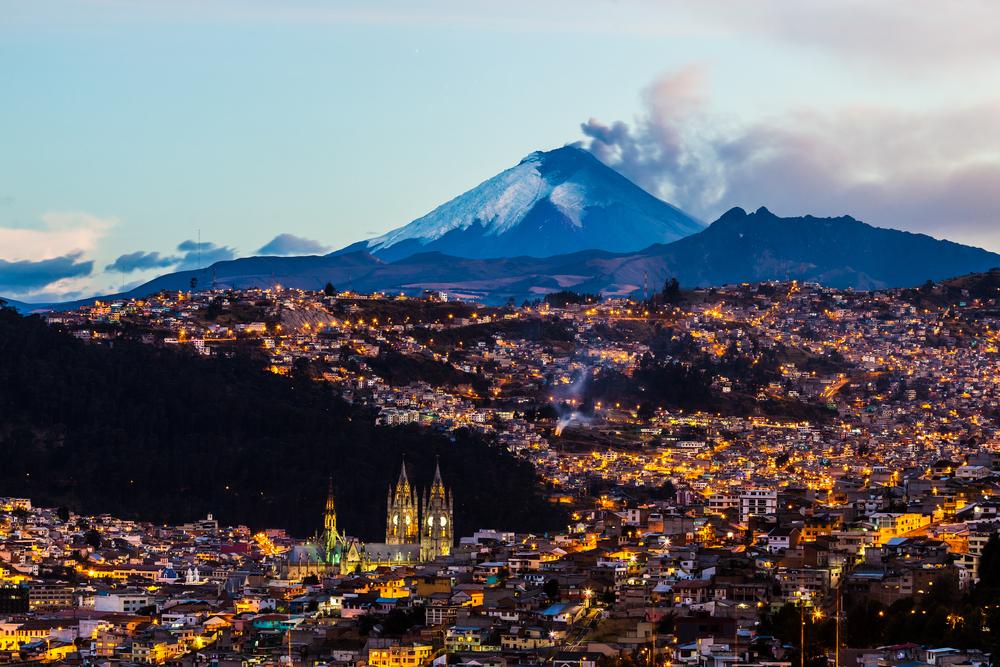 Извержение вулкана Котопакси