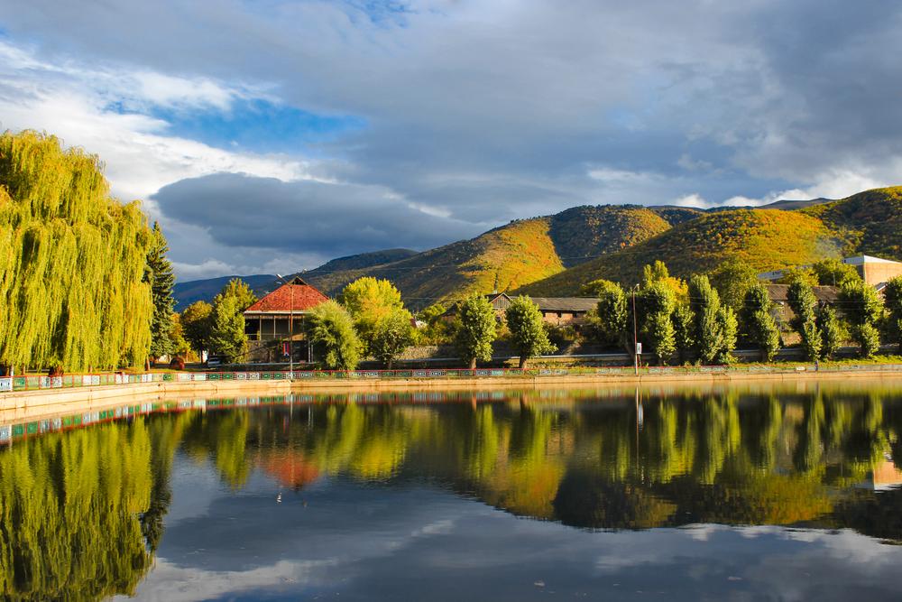 Озеро в городе Ванадзор