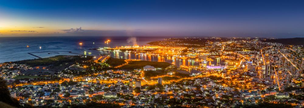 Панорама Порт-Луи