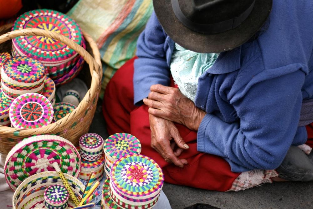 Плетеные корзины
