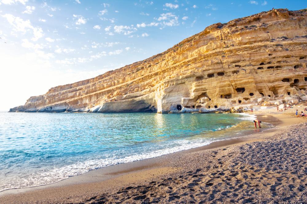 Пляж Матала