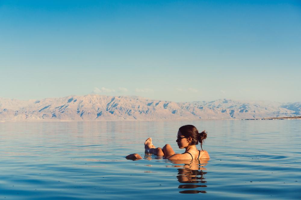 Вода в Мертвом море