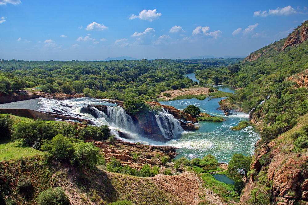 Водопад на реке Крокодил