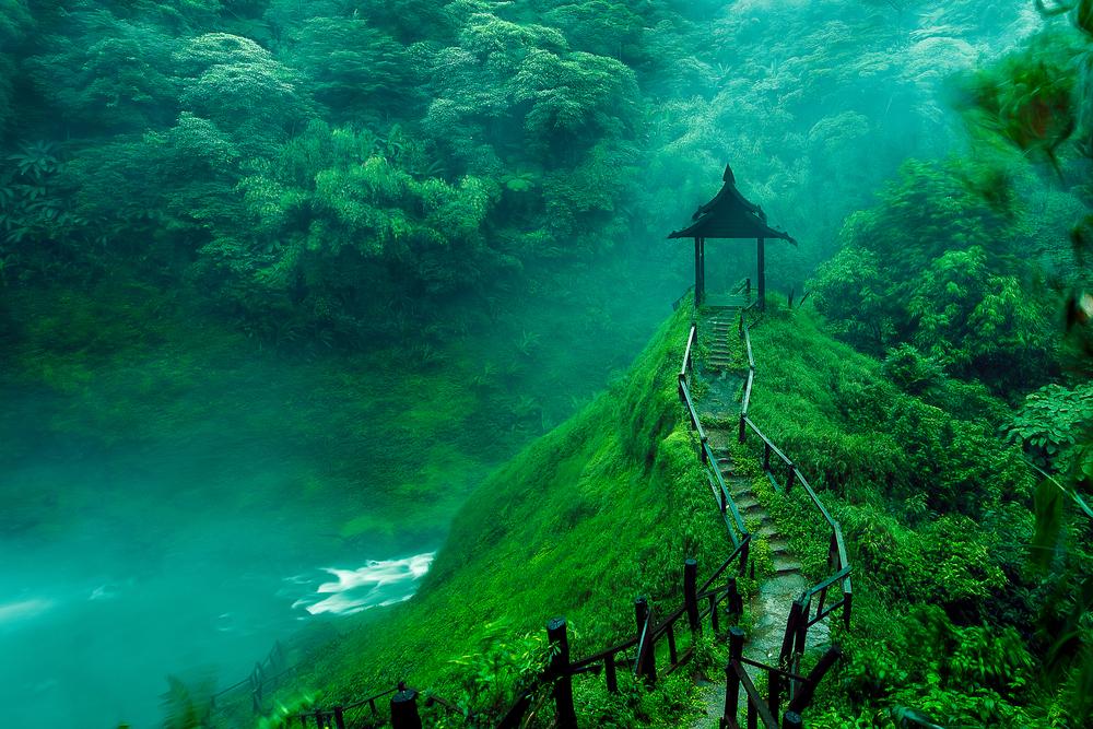 Водопады в Лаосе