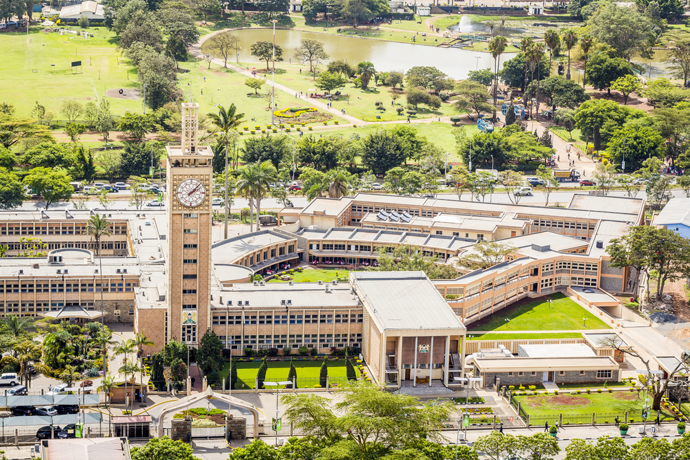 Здание парламента Кении