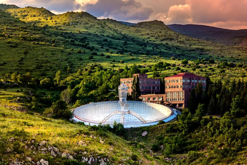 Зеркальный радиотелескоп