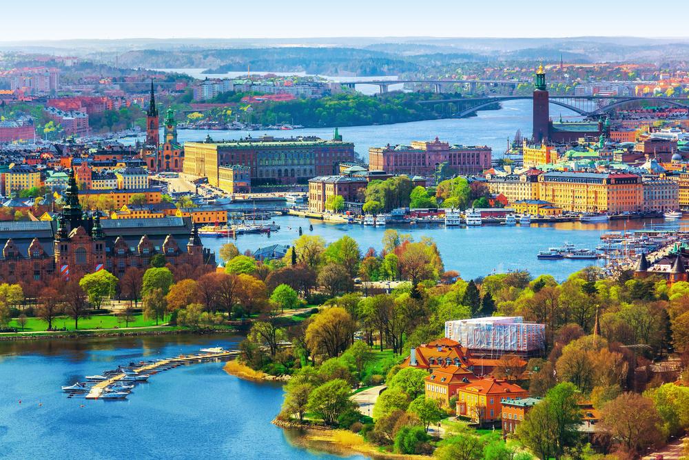 Архитектура Старого города (Гамла Стан) в Стокгольме