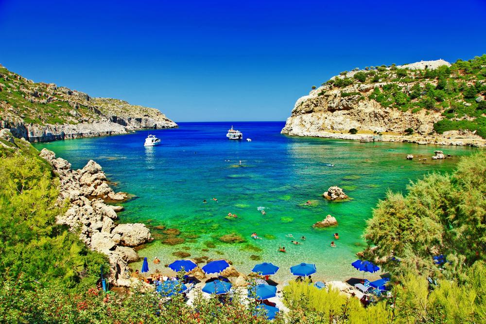 Бирюзовые пляжи Родоса