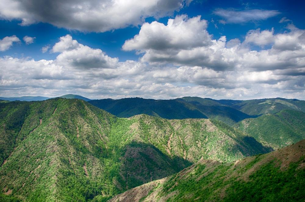 Гора Златибор, ущелье реки Увак