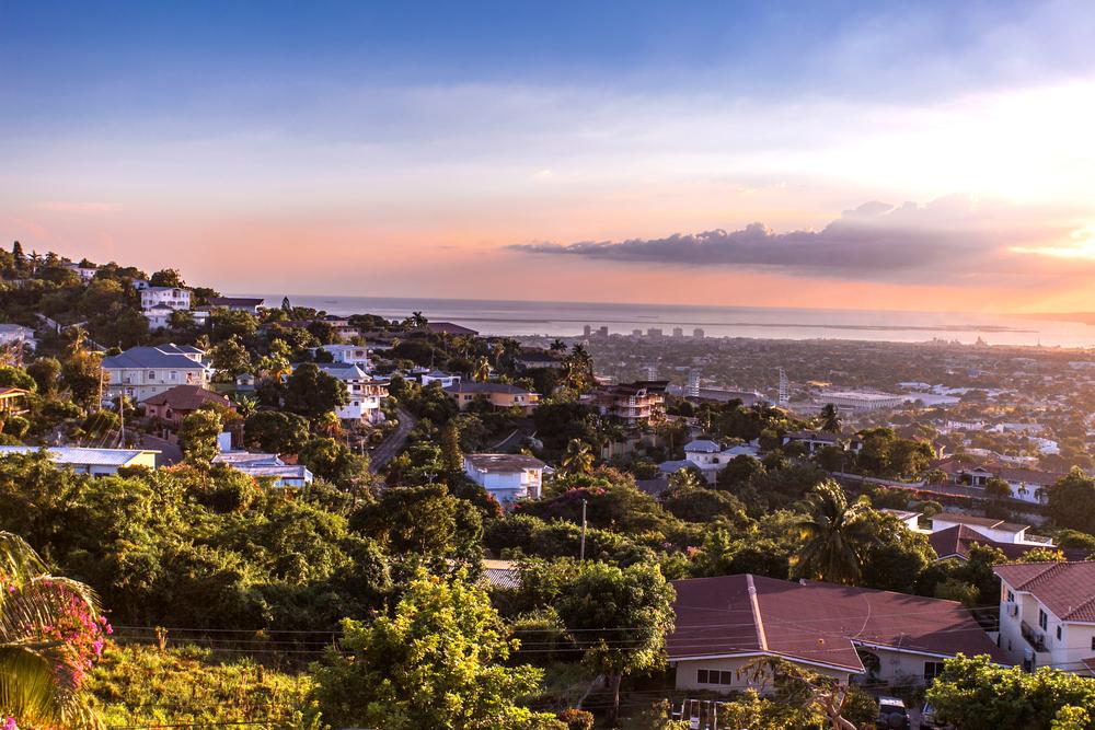 Городские холмы Кингстон, Ямайка