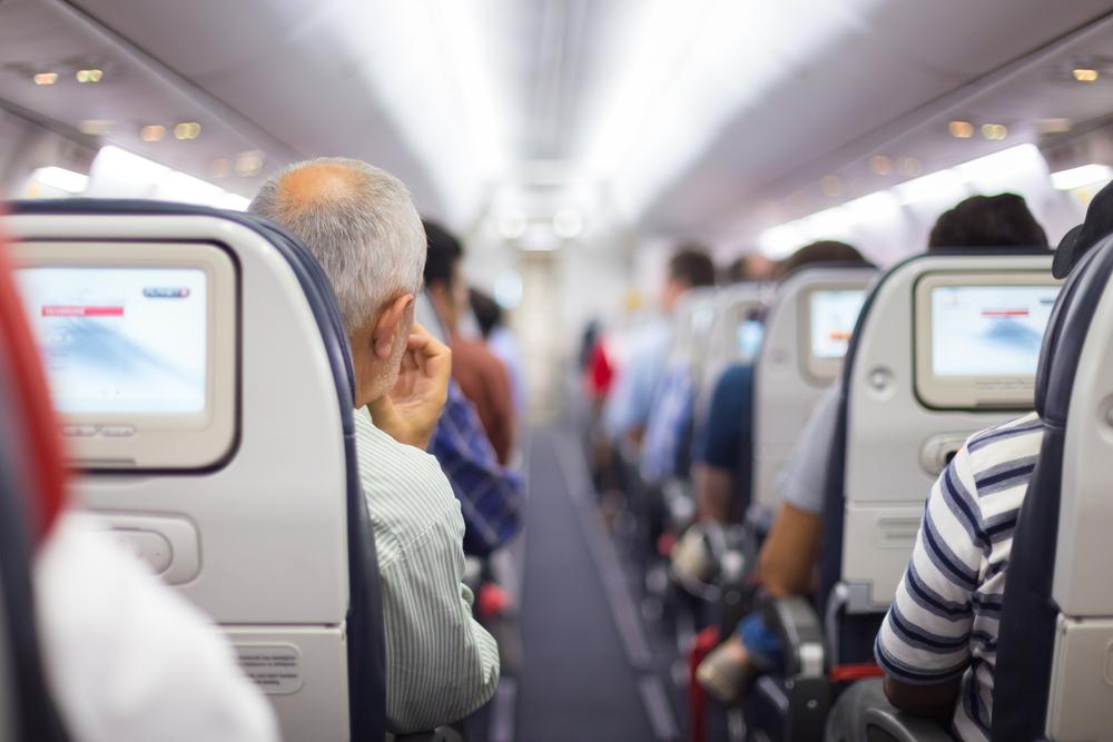 Интерьер самолета