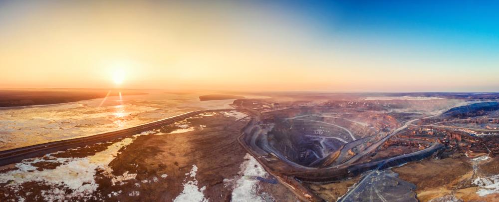 Карьер по добыче полезных ископаемых в России, Сибирь