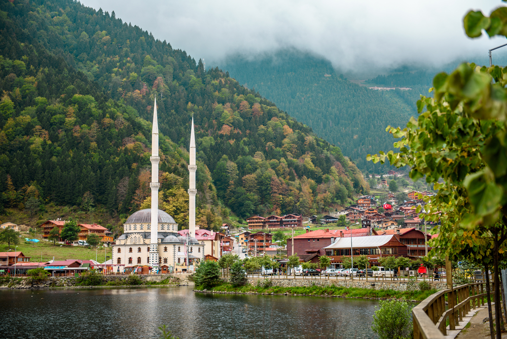 Озеро Узунголь, Турция