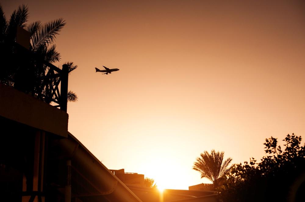 Перелет в Египет