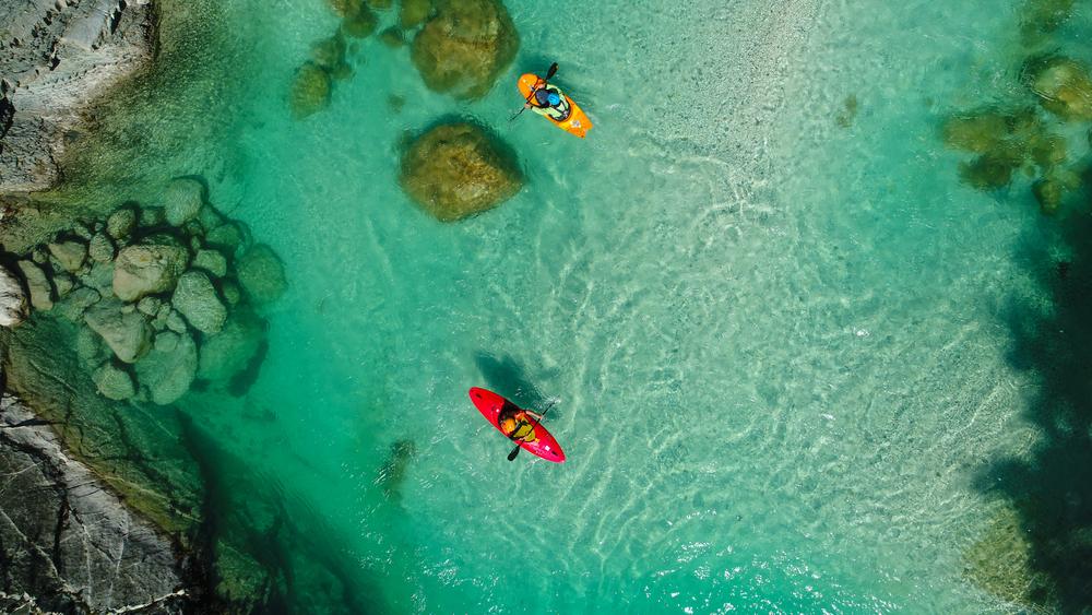 Рафтинг на реке Соча