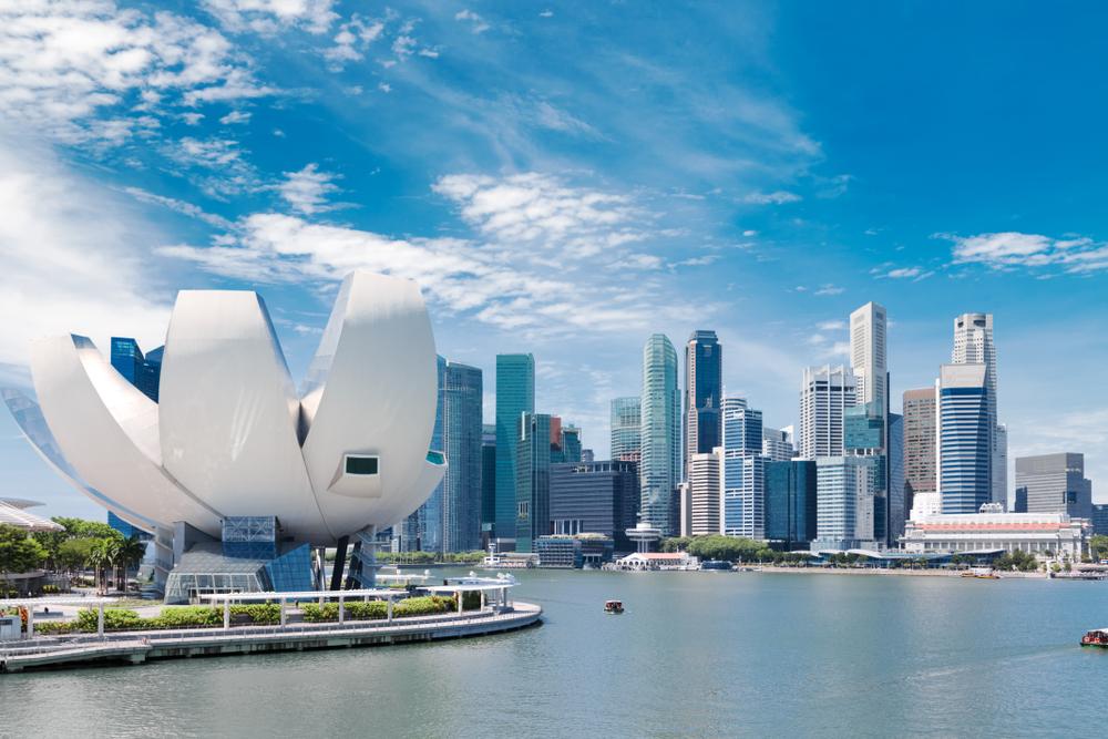 Сингапурский городской пейзаж