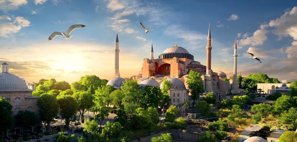 Собор Святой Софии. Стамбул, Турция