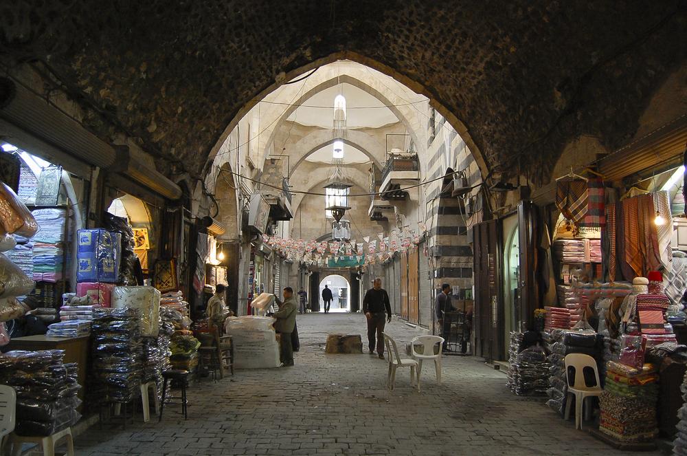 Старейший рынок Аль-Мадина