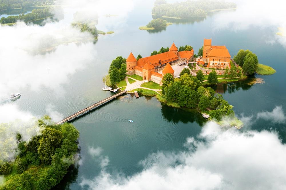 Старый замок. Тракай, Литва