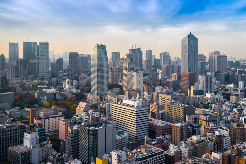 Центр Токио, Япония