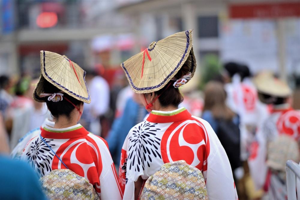 Традиционные японские костюмы