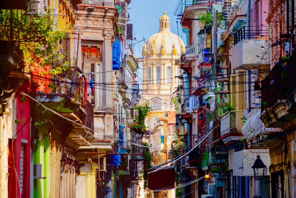 Улица в Старой Гаване