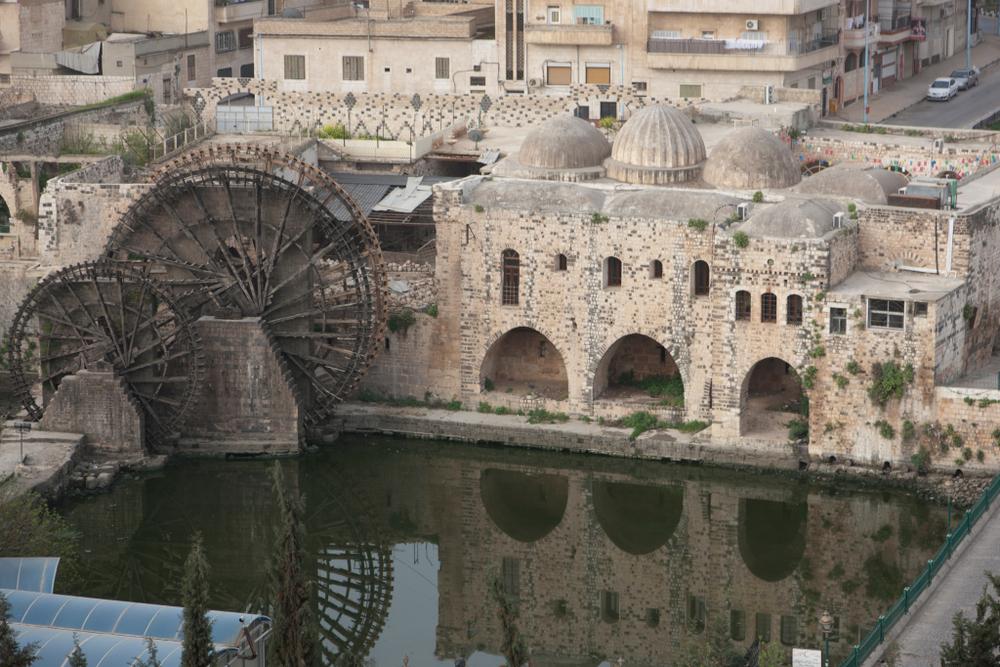 Вид на город Хама