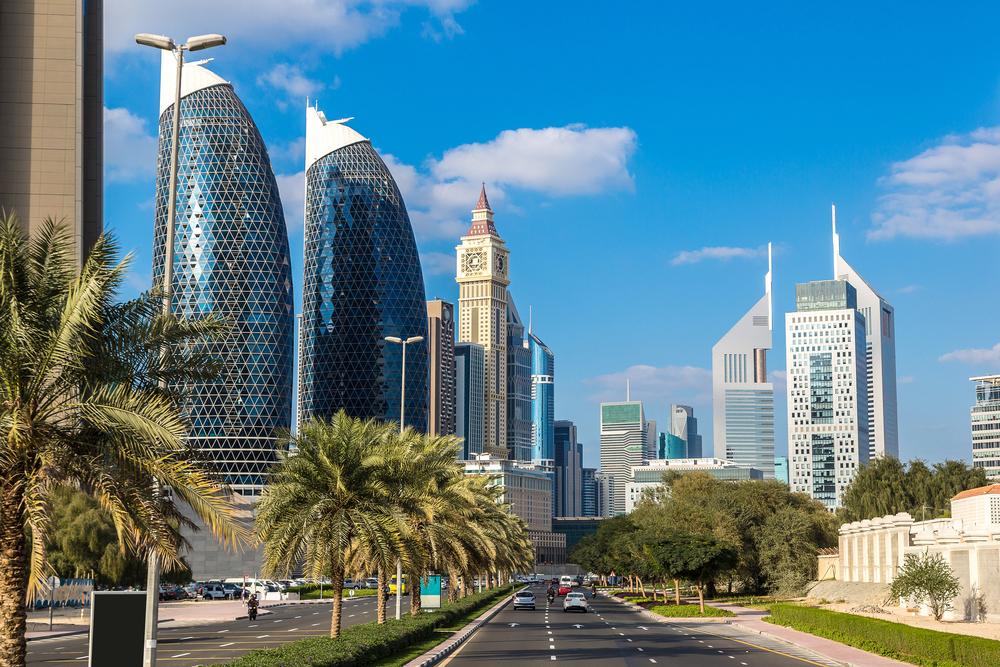 Небоскребы в Дубае