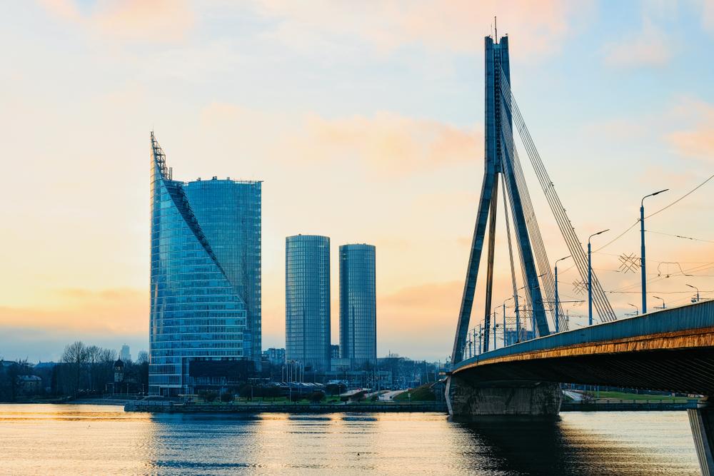 Бизнес-центр в Латвии