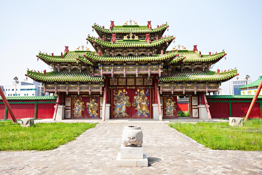 Музей Богдо хана. Улан-Батор, Монголия