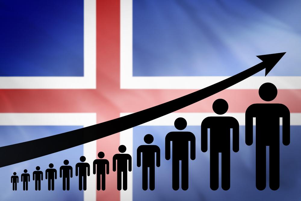 Прирост населения Исландии