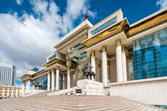 Работа в Монголии