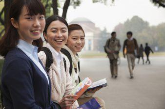 Студентки китайского университета